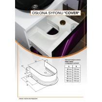 Osłona syfonu COVER 310/84 biały