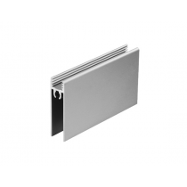 Listwa pozioma dolna DECOR aluminium 3m SEVROLL