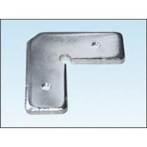 Kątownik do ramki aluminiowej NR2