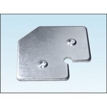 Kątownik do ramki aluminiowej NR3
