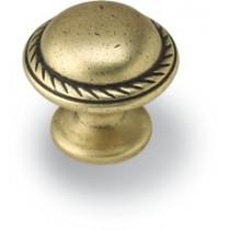 Gałka meblowa GG36 stare złoto